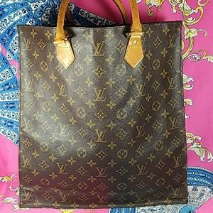 Authentic Louis Vuitton Monogram Large Tote